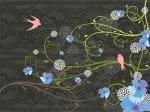 rondini, primavera, serenità, giardino, quiete, creatività