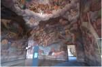 affreschi,pittura,Giulio Romano, sala dei giganti, palazzo te mantova, grotta dei nani