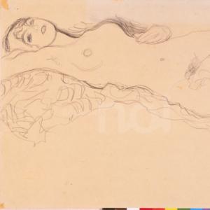 Nudo femminile - Gustav Klimt - 1904