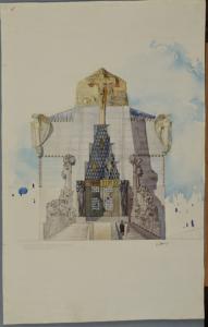 Progetto cimitero di Mantova - Raimondo D'aronco