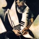 Chagall-Ebreo-in-preghiera-Jew-il rabbino di vitebsk