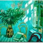 Quadro_su_tela_Fiori_color_rosa_-_Chagall 22