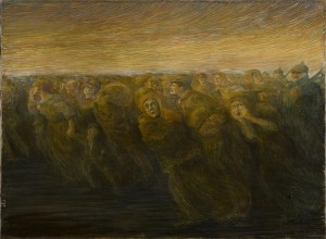 16_-Gaetano-Previati-Gli-orrori-della-guerraguerra-L'esodo-1917-olio-su-tela-585x790mm-