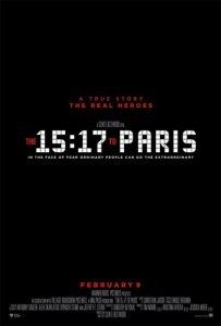 H. 15.17 TO PARIS - ATTACCO AL TRENO - CLINT EASTWOOD